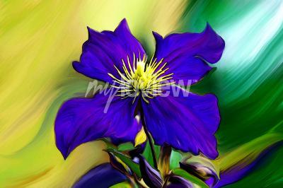 Fototapete Nadmorski Kwiat