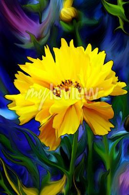 Fototapete Słoneczny Kwiat
