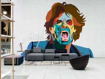 Fototapete Mick Jagger