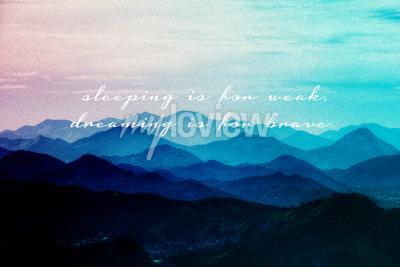 Schlafen ist für schwache