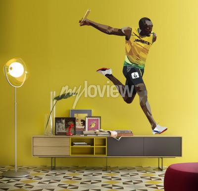 Fototapete Usain Bolt