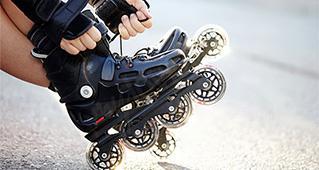 Rollschuhfahren