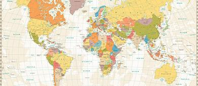 Politische Karte