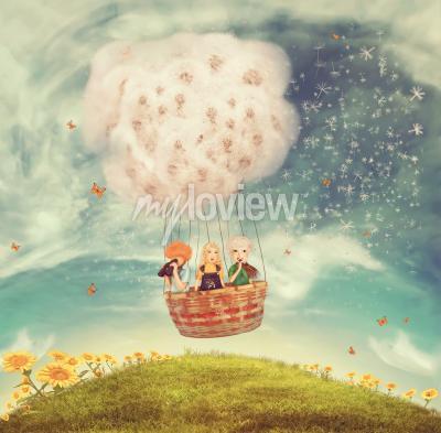 Magischer ballon