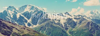 Fototapete Winter Berge Panorama
