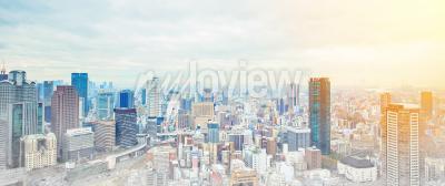 Fototapete Asien Business-Konzept für Immobilien und Corporate Bau