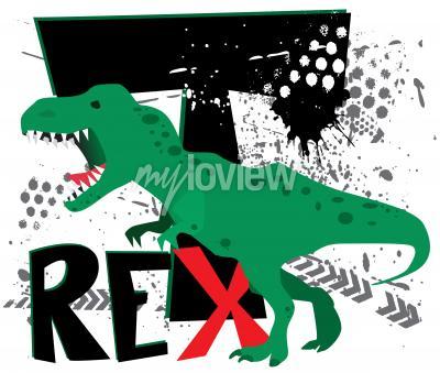 Fototapete Gefährlicher T-Rex