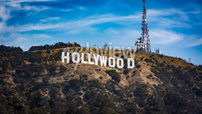 Poster Hollywood sign Los angeles