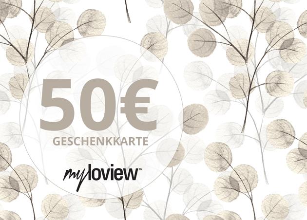 Geschenkkarte 50 EUR