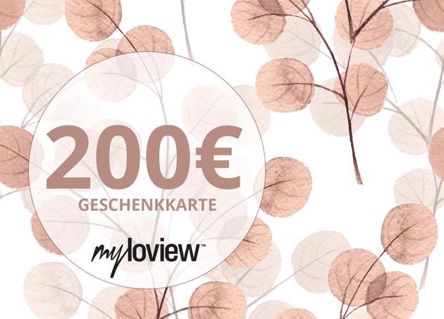 Geschenkkarte 200 EUR