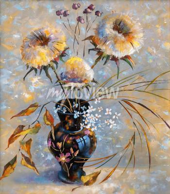 Bild Artwork. Dry flowers. Author: Nikolay Sivenkov