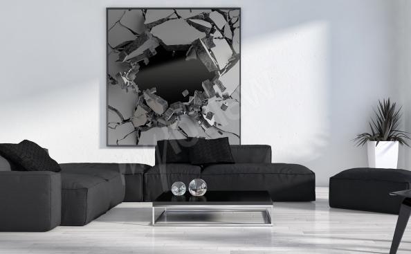 3D Bild fur Wohnzimmer