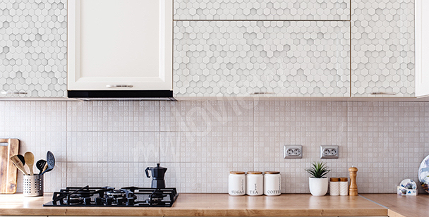 3D-Sticker für die Küche