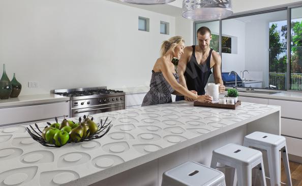 3D Sticker für die Küche