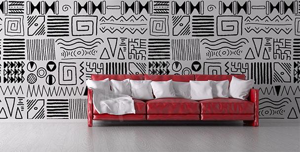 Afrikanische Fototapete fürs Wohnzimmer