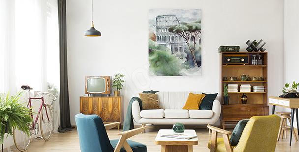 Bild Stadt für Wohnzimmer