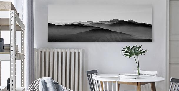 Bergbild fürs Esszimmer