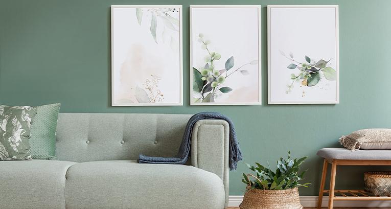 5 originelle Poster für ein Wohnzimmer in jedem Stil