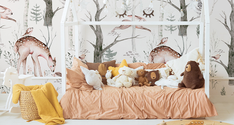 Accessoires für das Mädchenzimmer in 5 besonders angesagten Farben