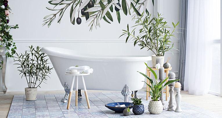 Entdecken Sie Badezimmer-Dekos, die das bestehende Arrangement verändern