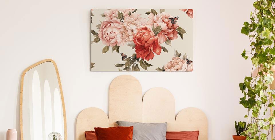 Bild blühende Blumen