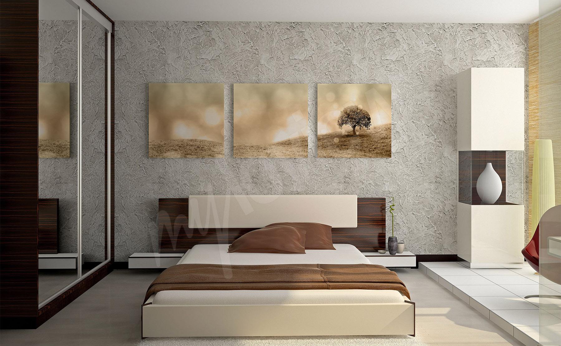 Bilder Schlafzimmer • größe der wand   myloview.de