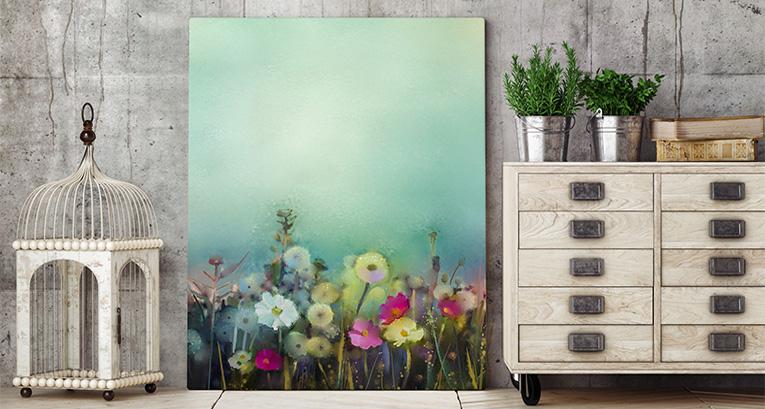 Blumenbilder – eine zeitlose und universelle Wanddekoration