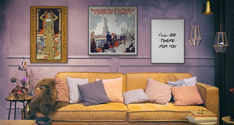Die Wohnung aus der TV-Serie Friends – lassen Sie sich wie ein Held der bekannten Produktion fühlen!