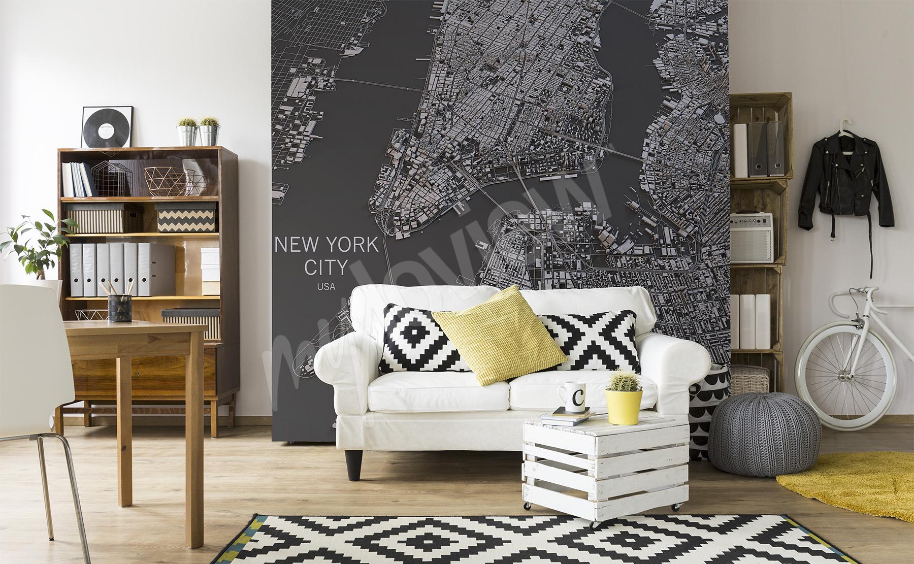 Fototapeten wohnzimmer gr e der wand - Dekorative pflanzen furs wohnzimmer ...