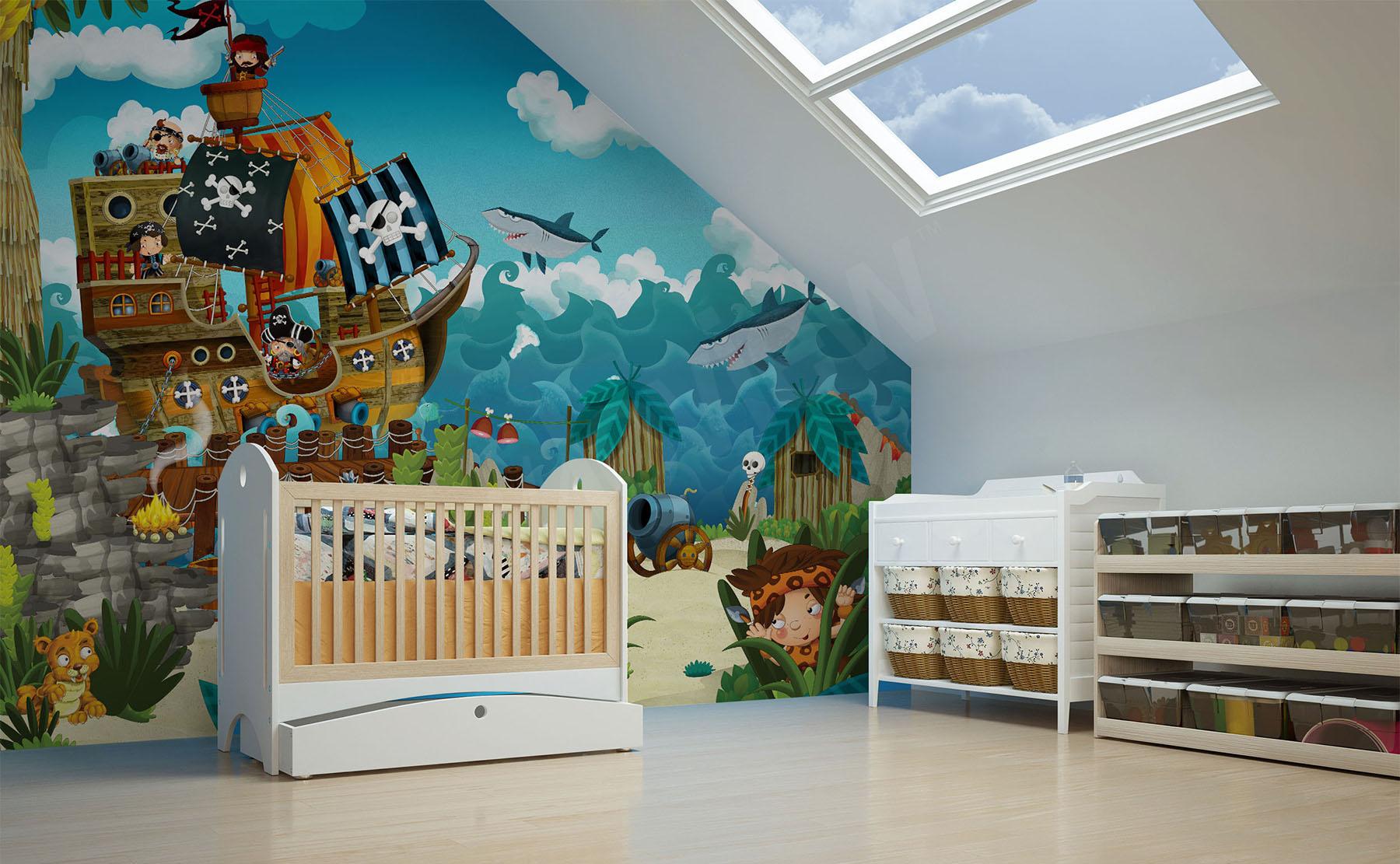 Fototapeten Kinderzimmer • größe der wand | myloview.de