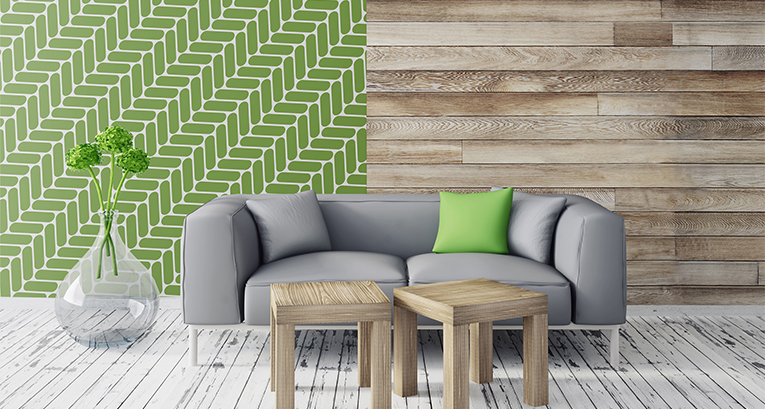 Greenery – Pantone-Farbe in deinen vier Wänden