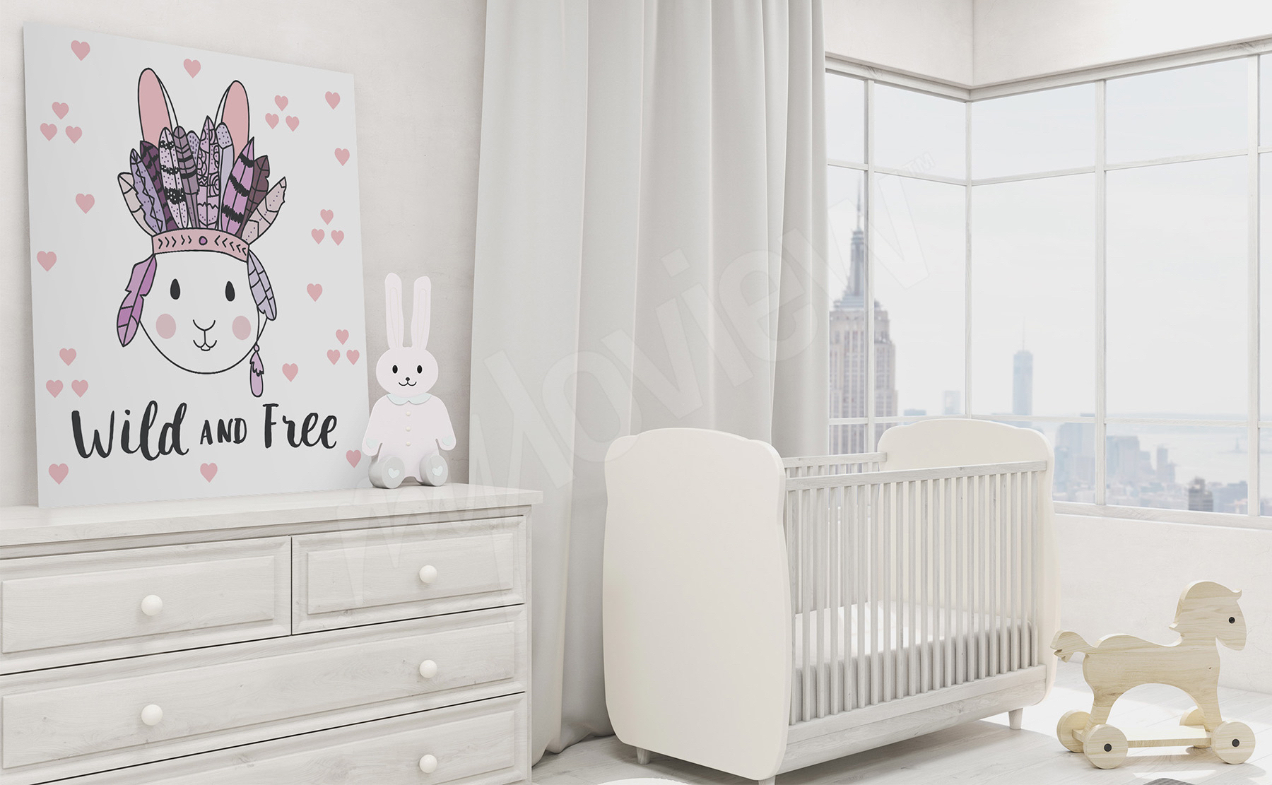 kinderbild im skandinavischen stil. Black Bedroom Furniture Sets. Home Design Ideas