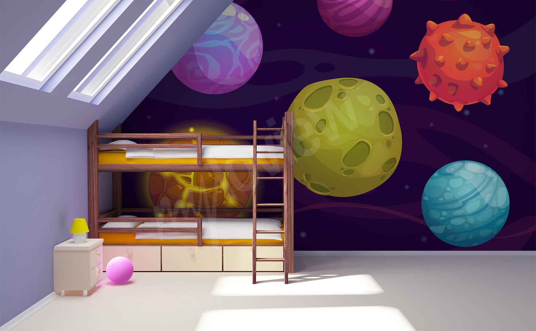 Beste weltall kinderzimmer gestalten zeitgen ssisch die for Weltraum deko kinderzimmer