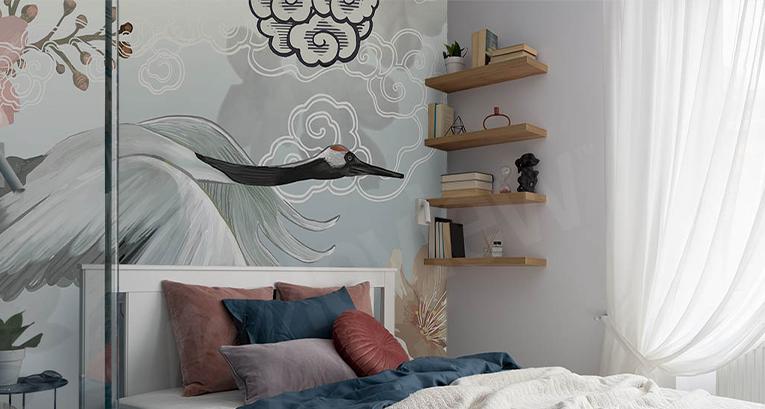Ein langes, schmales Schlafzimmer - Arrangements, die gut funktionieren