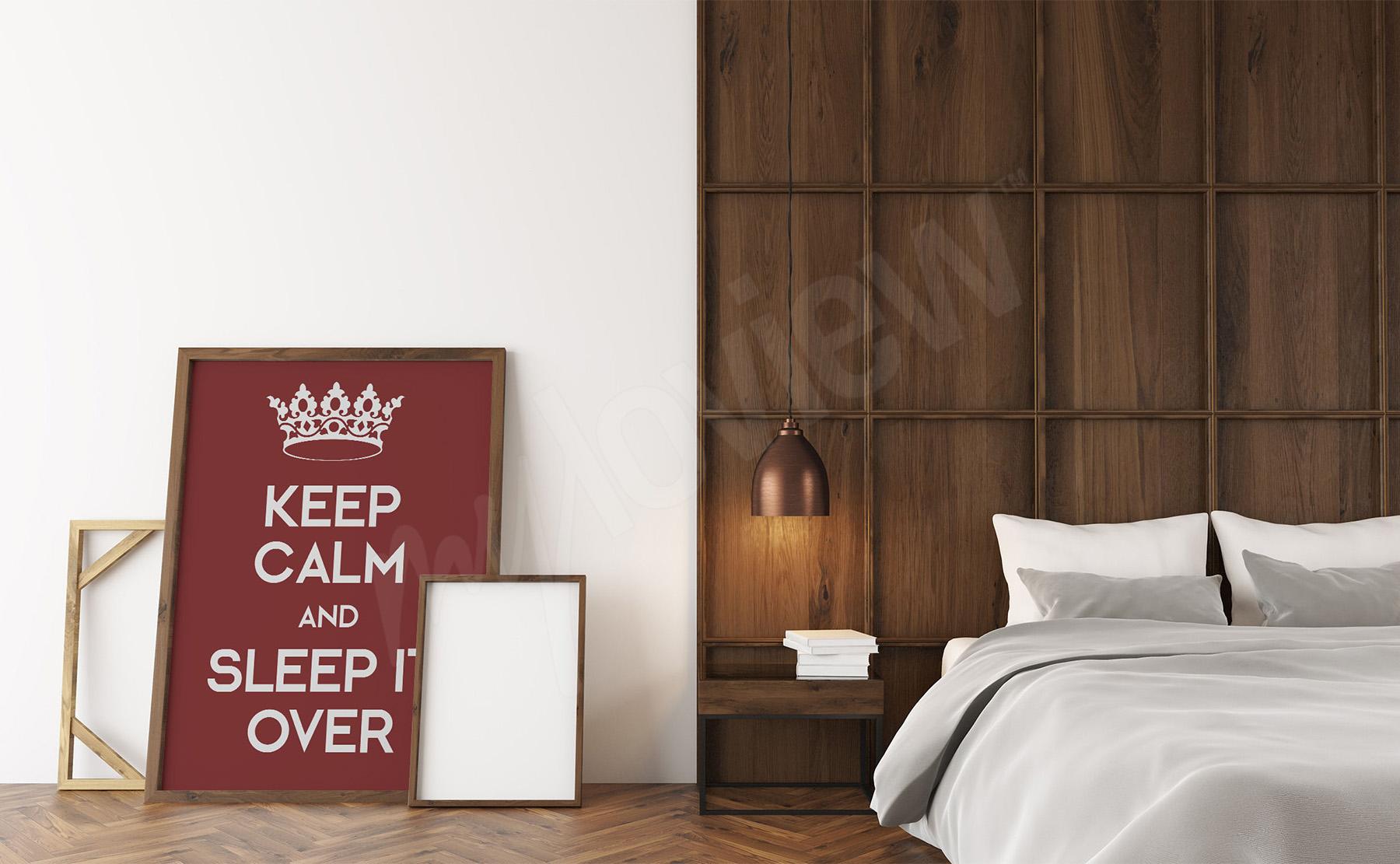 Wonderful Poster Fur Schlafzimmer #10: Zum Produkt · Poster Im Schlafzimmer Mit Typografie