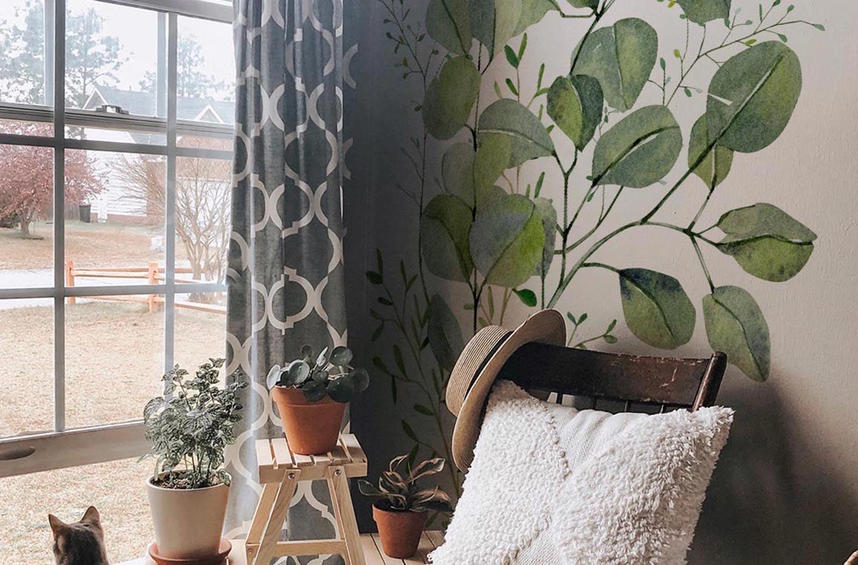 Sticker Eukalyptusblätter
