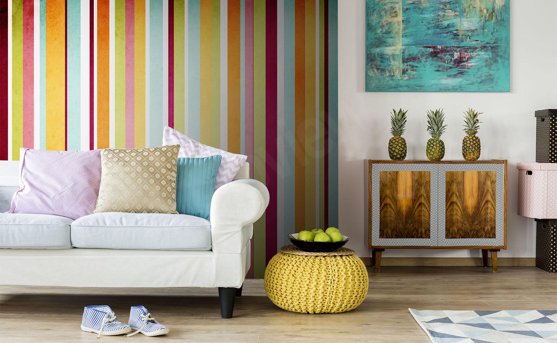 fototapeten streifen gr e der wand. Black Bedroom Furniture Sets. Home Design Ideas