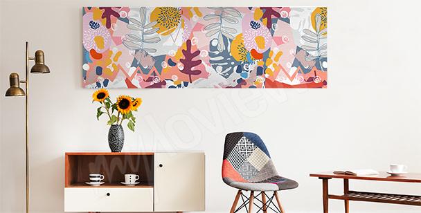 Bild abstrakte Blumen