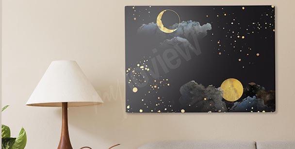 Bild abstrakter Himmel