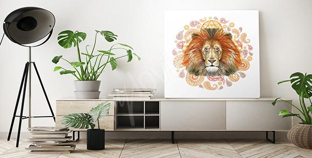 Bild afrikanischer Löwe