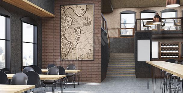 Bild alte Karte
