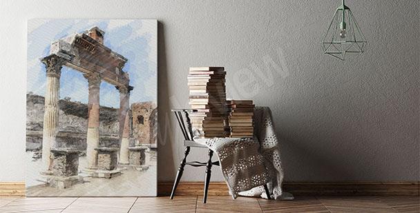 Bild antike Architektur