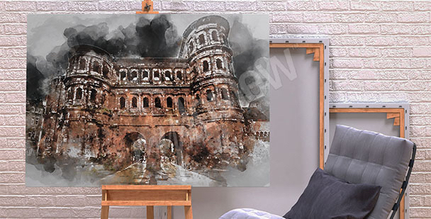 Bild Architektur Porta Nigra