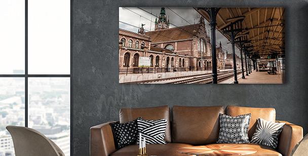 Bild Bahnhof 3D