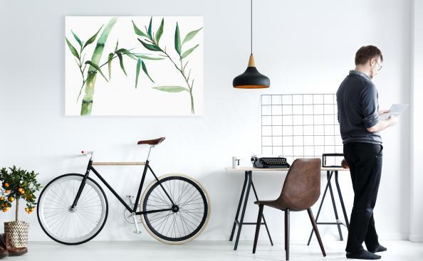 Bild Bambus fürs Büro