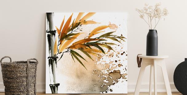 Bild Bambus fürs Wohnzimmer
