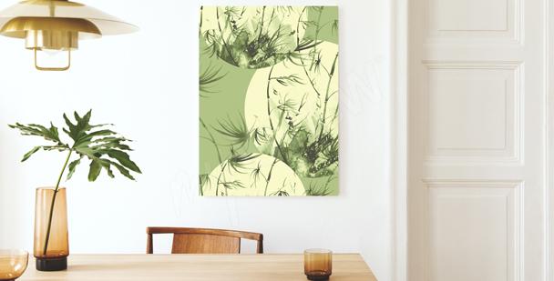 Bild Bambus in Pastell