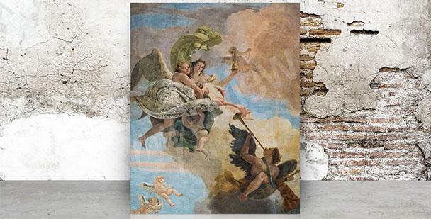 Bild Barock Fresko