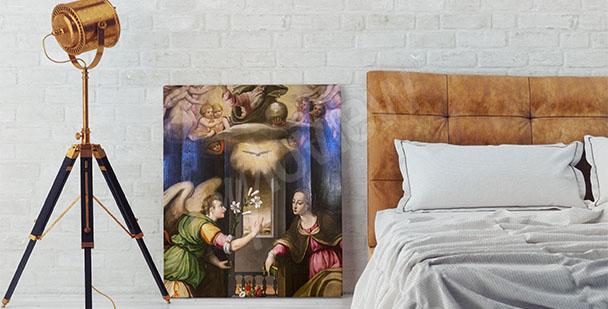 Bild Barock fürs Schlafzimmer