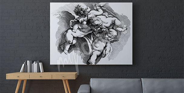 Bild Barock mit Cherubinen